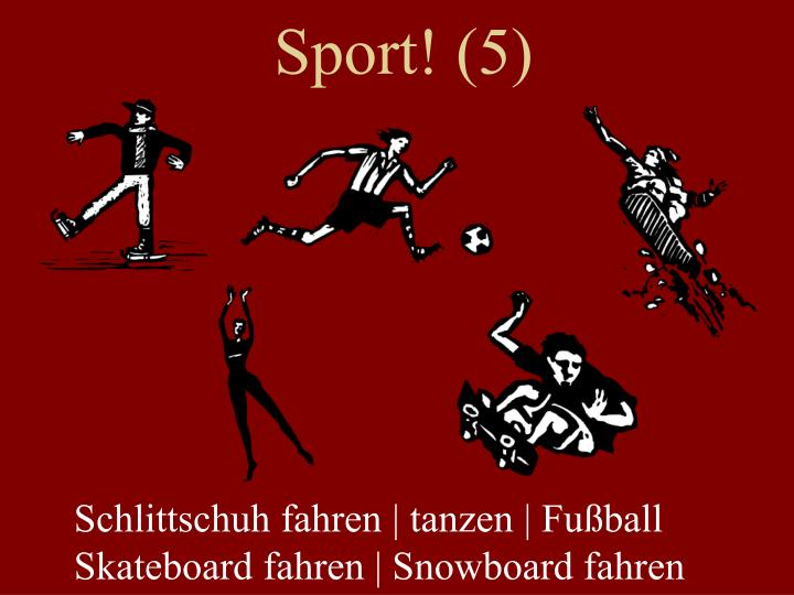 Sport! (5)