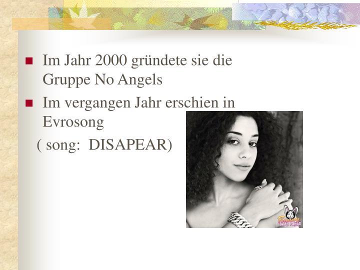 Im Jahr 2000 gr
