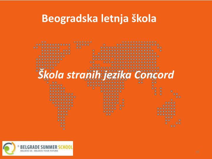 Beogradska letnja škola