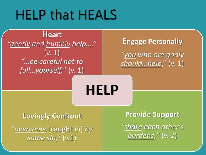 HELP that HEALS