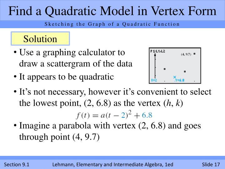 Ppt Quadratic Functions Powerpoint Presentation Id2701812