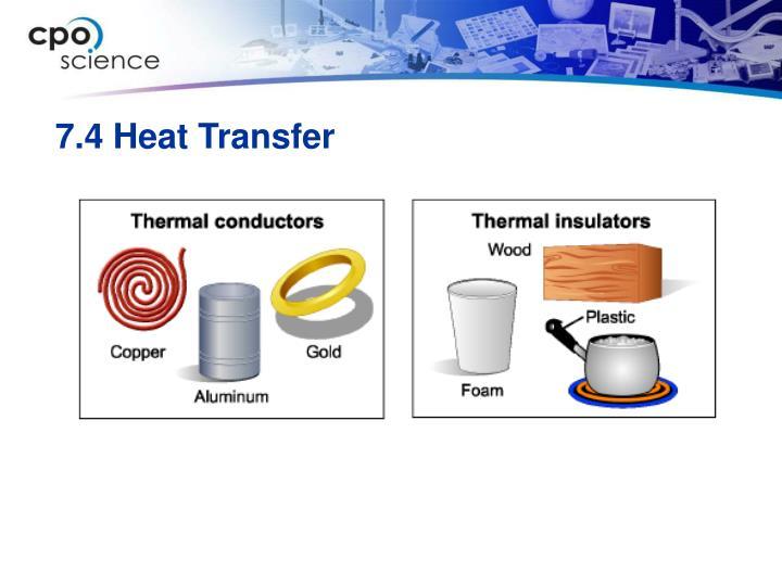 7.4 Heat Transfer