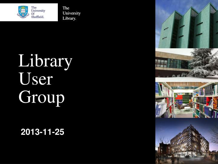 library user group n.