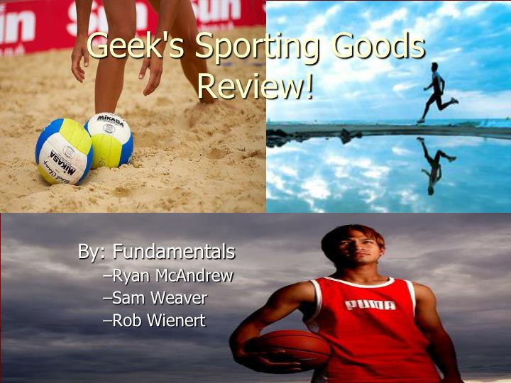 geek s sporting goods review n.