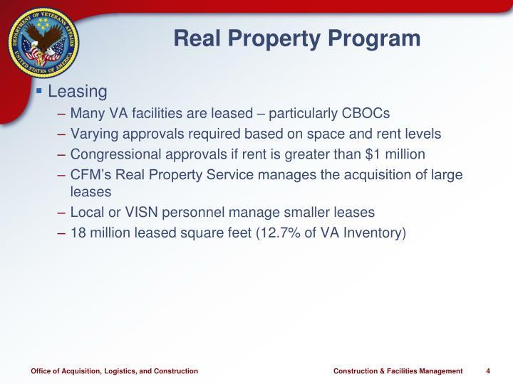 Real Property Program