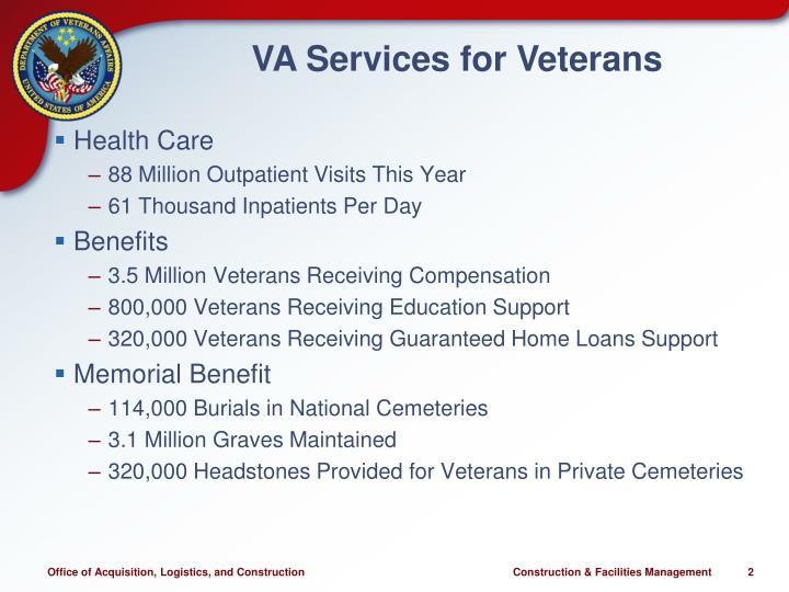Va services for veterans