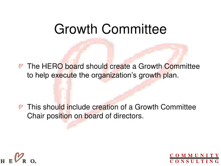 Growth Committee