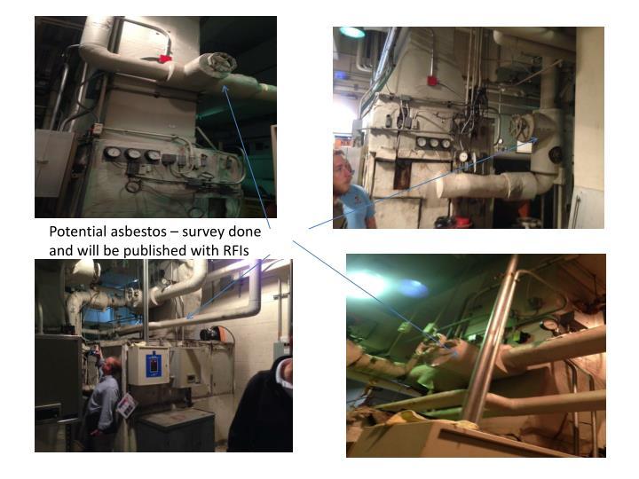 Potential asbestos – survey done