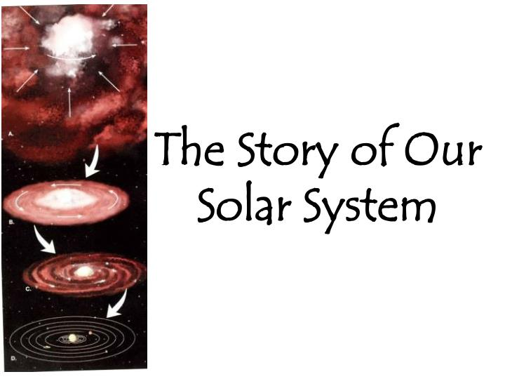 the story of our solar system n.