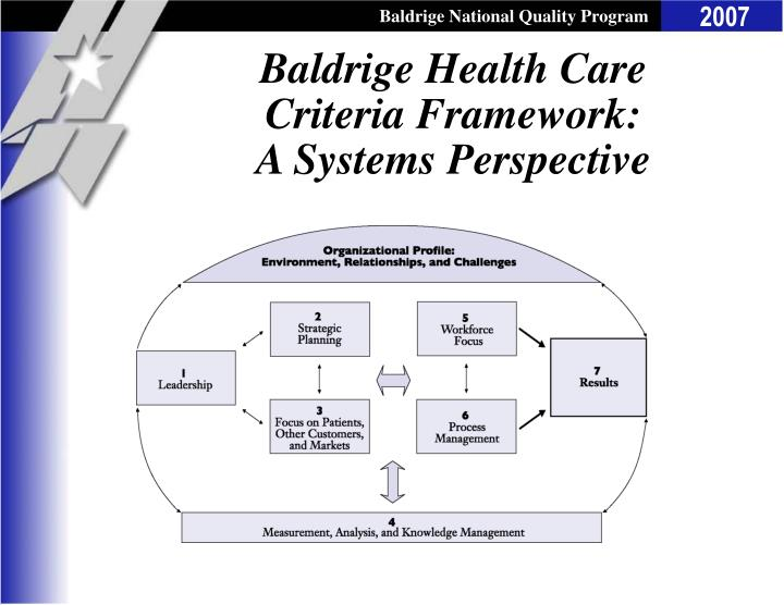 health care criteria throughout the world Nerenz & neil 2001: performance measures for health care systems 2 performance measures for health care systems objectives in this paper we will briefly summarize the history of performance measures for hospitals, health.