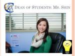 dean of students ms shin