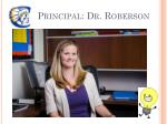 principal dr roberson