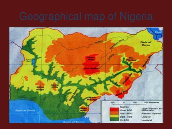 niger map geography of niger map of niger worldatlascom - 720×540