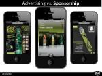 advertising vs sponsorship