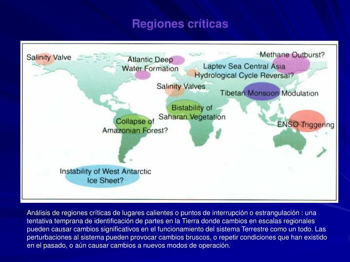 Regiones críticas