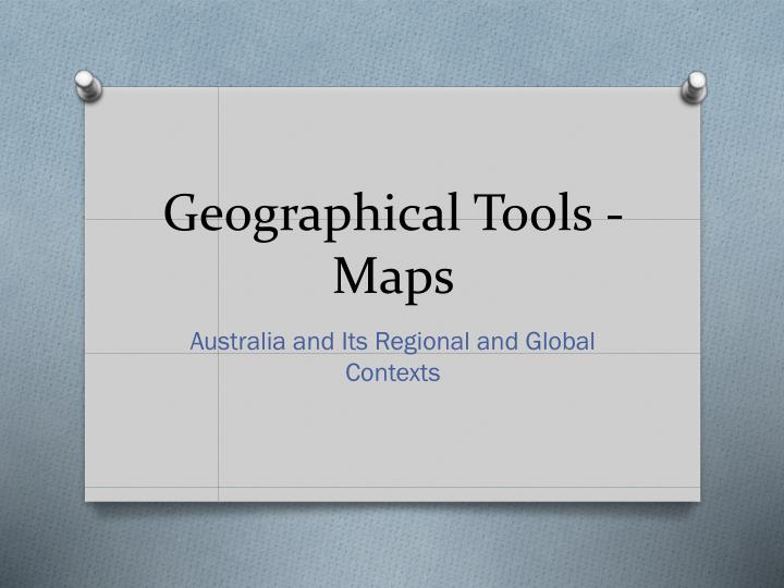 geographical tools maps n.