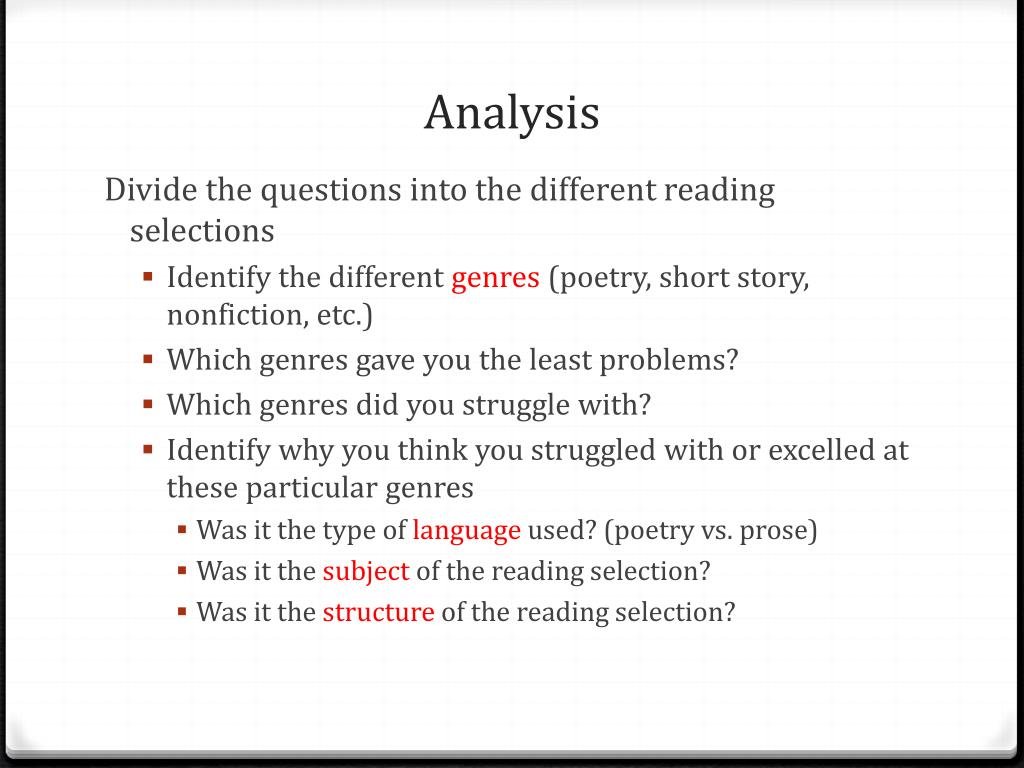 - PPT - Reading Comprehension PowerPoint Presentation, Free Download