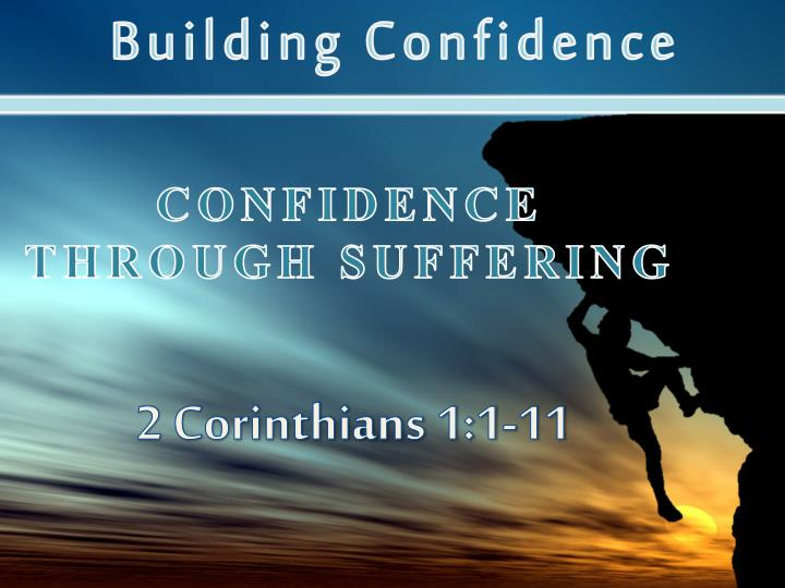 confidence through suffering n.