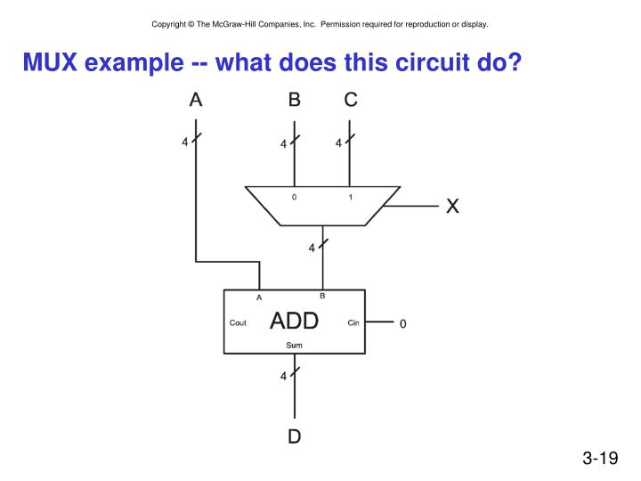 MUX example -- what does this circuit do?
