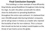 final conclusion example
