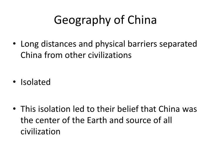 geography of china n.