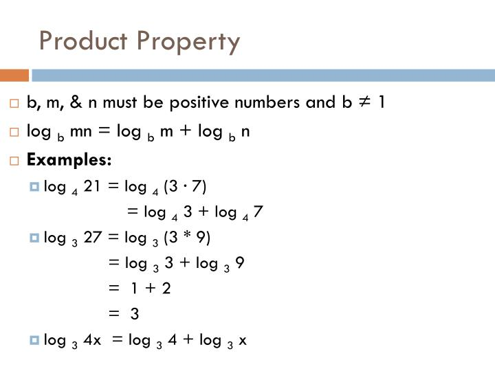 Product property