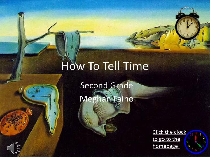 how to tell time n.
