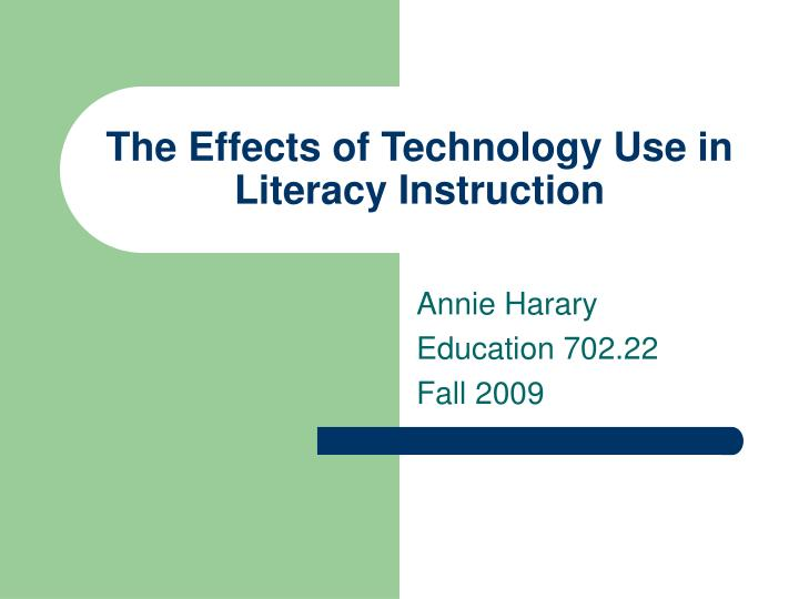 the effect of information technology on the media essay The effects of technology on the accounting profession information technology and accounting information systems is significantly responsible media and the effect on today's society pamela j funsch hum_176 august 29, 2010 jerry voltura abstract in this paper i will explore the subject.