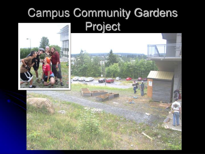 Campus Community Gardens Project