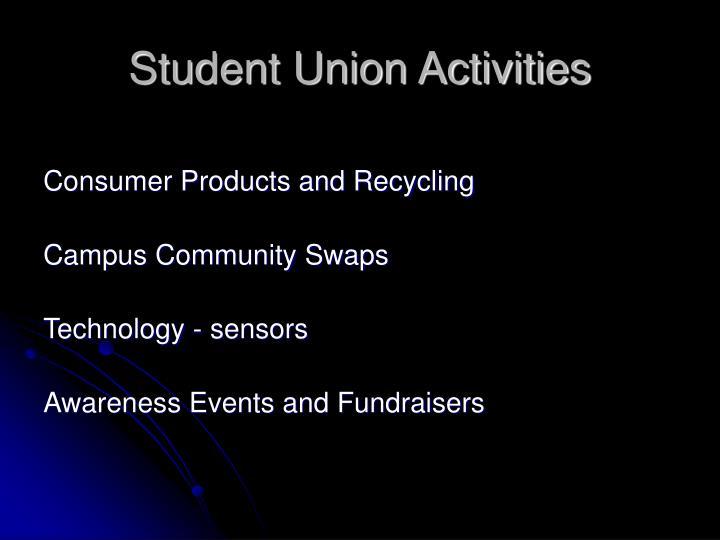 Student Union Activities