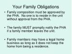 your family obligations3