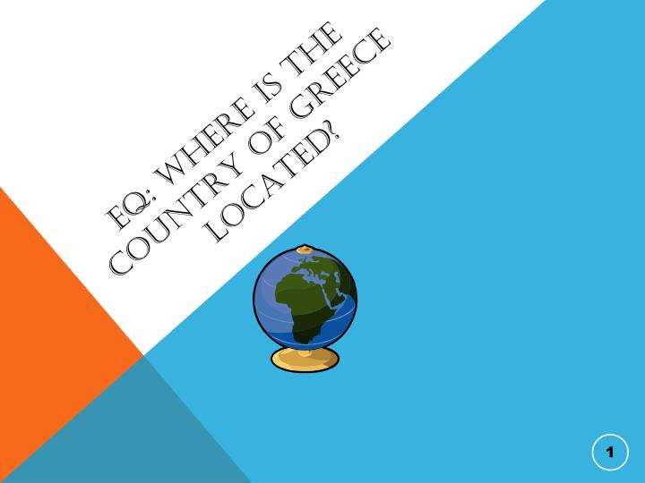 eq where is the country of greece located n.