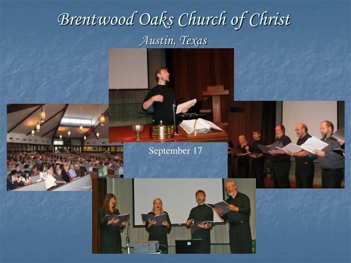 Brentwood Oaks Church of Christ