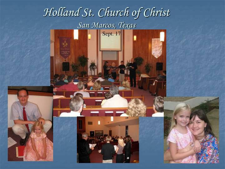 Holland St. Church of Christ