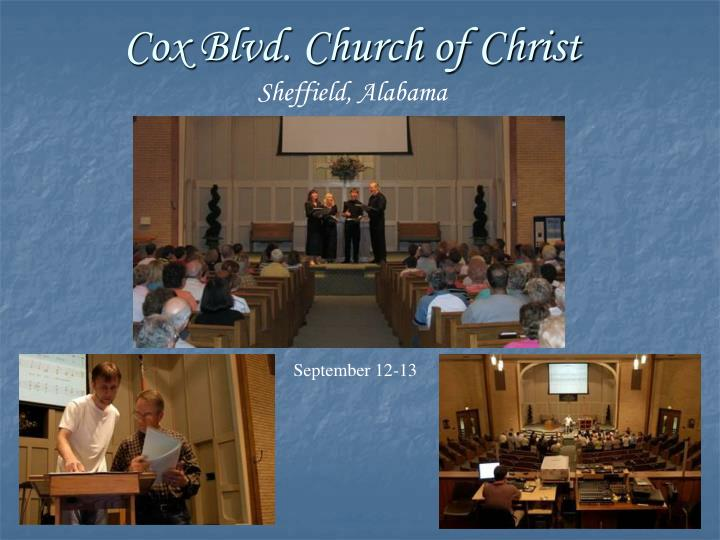 Cox Blvd. Church of Christ