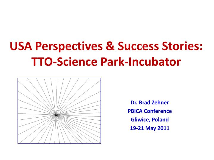 usa perspectives success stories tto science park incubator n.