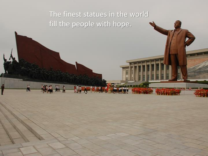 The finest statues in the world