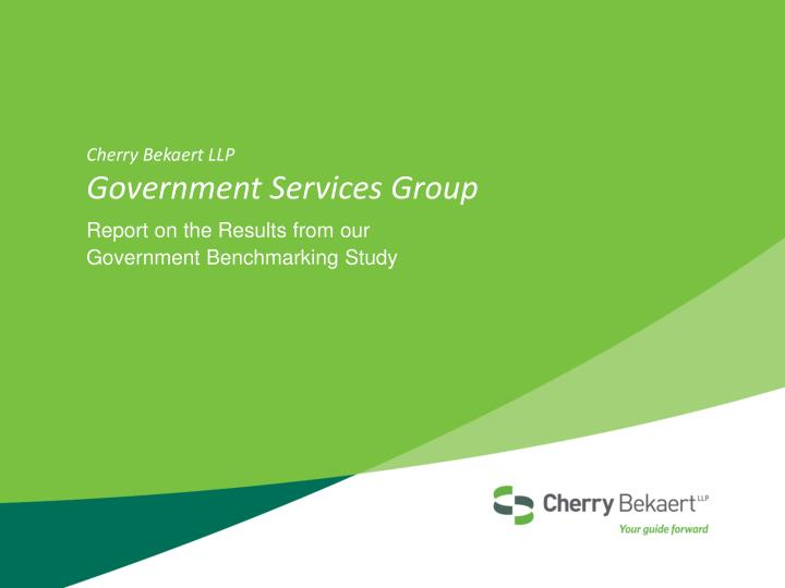 cherry bekaert llp government services group n.