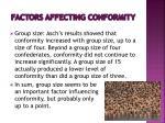 factors affecting conformity1