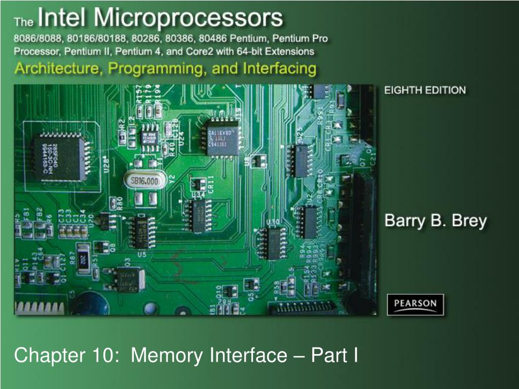 Ppt Chapter 10 Memory Interface Part I Powerpoint Presentation Erasable Programmable Readonly Integrated Circuits These N