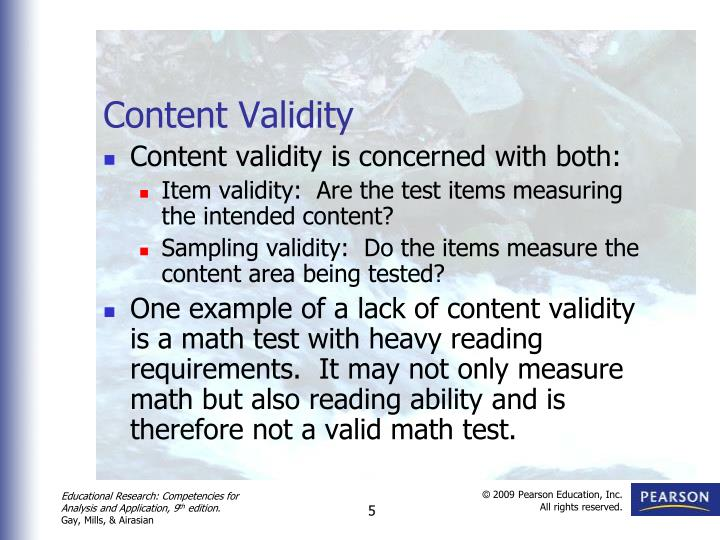 Ppt Validity And Reliabilty Powerpoint Presentation Id2705232
