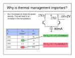 why is thermal management important