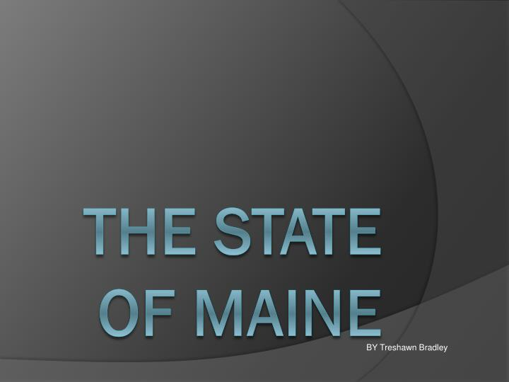 the state of maine n.