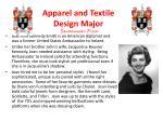 apparel and textile design major savannah pica