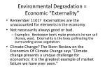 environmental degradation economic externality