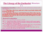 the liturgy of the eucharist structure1