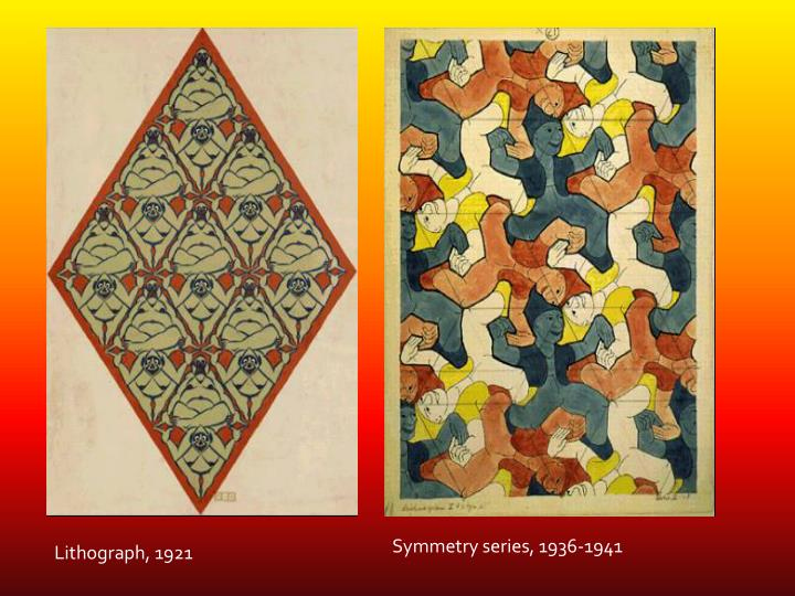 Symmetry series, 1936-1941