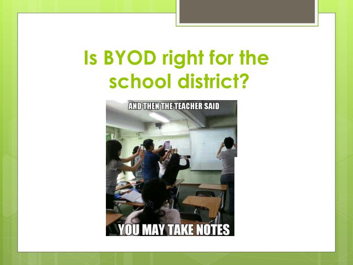 Is BYOD right for the