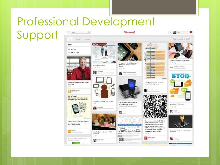 Professional Development Support