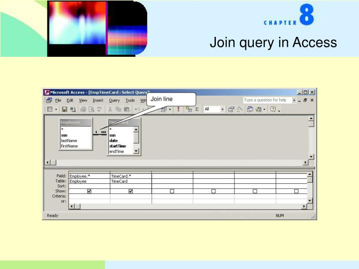 Join query in Access